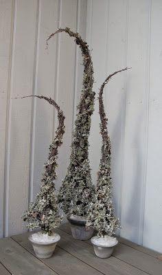 Hjemmelagede lavtrær til jul