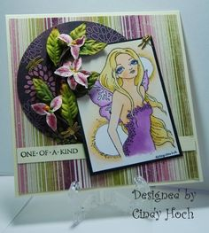 Sweat Pea Cards by GSMom385 - Cards and Paper Crafts at Splitcoaststampers