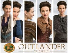 Outlander Knitting and Crochet Kits -- Lion Brand® is the official licensee of knit and crochet kits inspired by Outlander. There are seven knit and seven crochet easy-to-make designs.