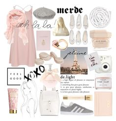 """""""paris, france"""" by que2001 ❤ liked on Polyvore featuring Fujifilm, River Island, French Connection, Mark Cross, Gucci, Kate Spade, Salvatore Ferragamo, Herbivore, VIPP and Elie Saab"""