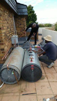 heat pump / geyser installation Heat Pump, Plumbing, Hands, Heat Pump System