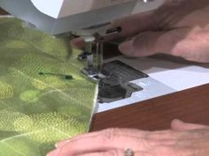 Nancy Zieman demonstrates the Stitch 'n Turn Quilting Technique while making quick quilted placemats. Brought to you by Nancy's Notions. http://www.nancysnotions.com/category/video+demos/quick+quilted+placemats.do?YT00020