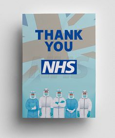 High quality colourful posters to Say Thank You to NHS doctors, nurses, staff, who have been fighting with Coronavirus BIG THANK YOU to NHS Thank You Poster, Poster Designs, Save Life, My Design, Poster Prints, Free, Color, Colour, Colors
