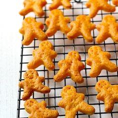 Homemade Goldfish Crackers Or Gingerbread Man #foodgawker
