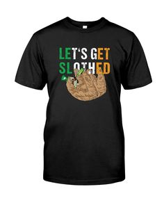 Let/'s Get Weird Women/'s T-Shirt Funny Drinking College Party Novelty Gag Tees