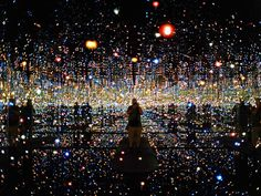 The infinity Room, Broad Museum