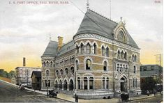 Fall River Massachusetts, Post Office, Axe, The Neighbourhood, Louvre, Building, Photography, Travel, The Neighborhood