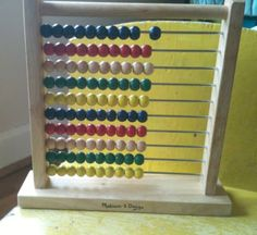 31 Ways to learn using an abacus....so daddy can teach them how to use his =) =)