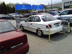 wanneer er geen parking is aan de supermarkt ,dan is dit de oplossing