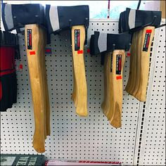 Normally I might have referred you directly to the Hammer Index Page for ideas on Tekton Hatchet Hook for Pegboard Display Pegboard Display, Display Shelves, Store Layout, Shop Organization, Store Design, Hardware, Shopping, Ideas, Tool Store