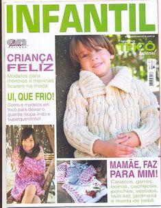 Revista FIGURINO TRICÔ ESPECIAL INFANTIL - Receita Tricô Fácil