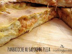 #Panbrioche al #sapore di #pizza - Molliche di zucchero