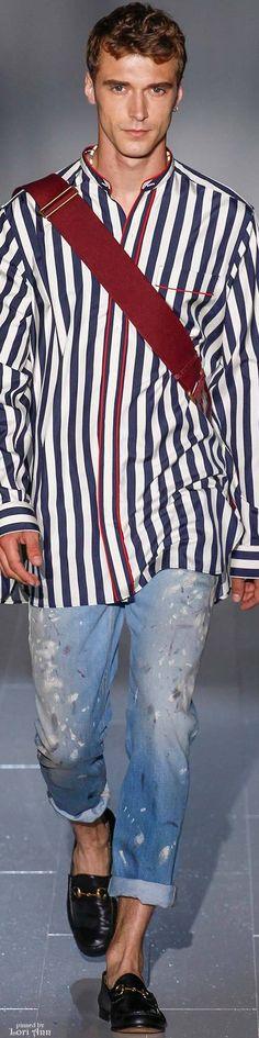 Gucci 2015 | Men's Fashion | Menswear | Men's Casual Outfit | Moda Masculina | Shop at designerclothingfans.com