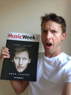 James Blunt! I just love him...