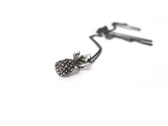 Elaine Ho Sterling Silver Pineapple Necklace available at www.victoireboutique.com