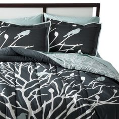 Room 365 Birds and Branches Comforter Set At target I LOVE IT too bad it isn't sold it in stores!