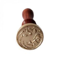 Game Of Thrones Wooden House Wax Seal Stamp   $13.99