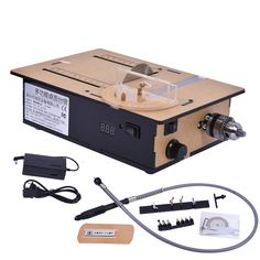 Mini Table Saws DIY 775 Small Saws High-profile Table Saws Cutting Machine With Speed Control/Positive Inversion/Voltage Display Woodworking Table Saw, Woodworking Jigsaw, Woodworking Ideas, Electric Jigsaw, Small Saw, Panel Saw, Marble Machine, Arduino Projects, Positive And Negative