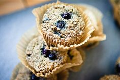 Blueberry Quinoa Bran Muffins #vegan | Keepin' It Kind