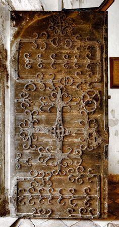 Door of St Mary, Haddiscoe - Norfolk UK