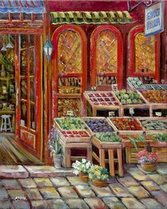 Fruit Market ~ Ginger Cook