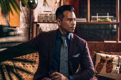 Daniel George custom two piece suit Blind Barber, Custom Tailored Suits, Bespoke Clothing, Street Look, Fine Men, Men's Fashion, Shirt Dress, Blazer, Jackets