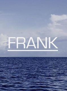 Frank Ocean. Love him.