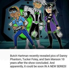 This would be so cool!! #dannyphantom