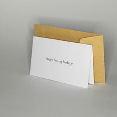 Happy Fucking Birthday - celebration birthday anniversary design wishing card - greetingcards and postcards