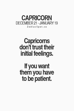 I'm patient