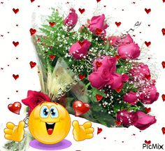 Danke Schatz Daizo Danke Schatz Daizo Thank you darling Daizo Thank you darling Daizo Animated Emoticons, Funny Emoticons, Funny Emoji, Smileys, Love Smiley, Emoji Love, Emoji Images, Emoji Pictures, Beautiful Love Pictures