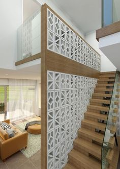 Nice 14 Unique Breeze Block Wall Inspiration For Housing https://decoratoo.com/2018/02/20/14-unique-breeze-block-wall-inspiration-housing/ 14 unique breeze block wall inspiration for housing that suit to apply as a fence, in the backyard or even inside the room.