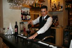 Luca, the barman