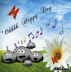 """ Ohhh happy day"""
