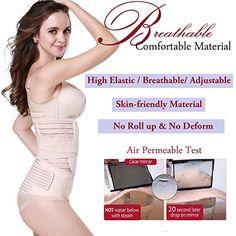 924e1dc66d 3 in 1 Postpartum Support - Recovery Belly waist pelvis Belt Shapewear (Nude