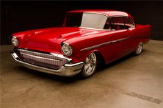 Sold* at Scottsdale 2013 - Lot #1312 1957 CHEVROLET BEL AIR CUSTOM 2 DOOR COUPE