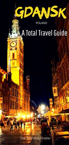 25 Awesome things to do in Gdansk - A total travel guide to Gdansk, including itineraries, tips to get around, shop, eat local food and more. Backpacking Europe, Road Trip Europe, Europe Travel Guide, Travel Guides, Travel Destinations, Holiday Destinations, Travel Advice, Budget Travel, European Vacation