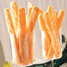 Cheese Straws Recipe- Tastes pretty similar to Cheeze-Its. E hardest part of this recipe was getting the consistency right and figuring out how thick to roll out the cheese mixture. Makes a lot so you can experiment with thickness.