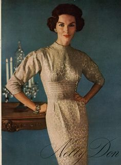 Nelly Don  Ad Campaign Fall/Winter 1956