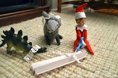 Elf on the Shelf Ideas {elf on} by tammy