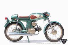 Honda S90, Honda Scrambler, 50cc Moped, Yamaha 125, Vintage Bikes, Vintage Motorcycles, Vintage Vespa, Custom Motorcycles, Motor Scooters