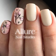Opting for bright colours or intricate nail art isn't a must anymore. This year, nude nail designs are becoming a trend. Here are some nude nail designs. Nude Nails, My Nails, Acrylic Nails, Nail Designs Spring, Nail Art Designs, Ring Designs, Spring Nails, Summer Nails, Nail Studio