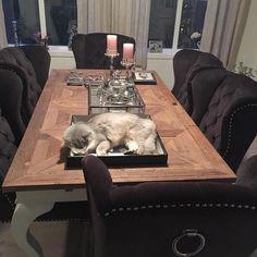 #Repost @maritapalmermorewood  Lekkert Marita Louis #Spisestuestol og #spisebord fra @classicliving