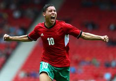 Abdelaziz Barrada - Morocco Midfielder (39' minute). Scored opening goal of Olympics 2012 football tournament to put Morocco ahead of Honduras 1-0 in a match that ended in 2-2 draw.