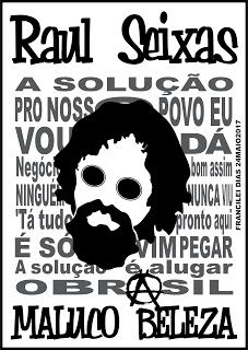 DF ARTE FINAL & SILK - SÓ NO CORELDRAW: ARTE: ALUGAR O BRASIL! (PRETO&BRANCO) - RAUL SEIXA...