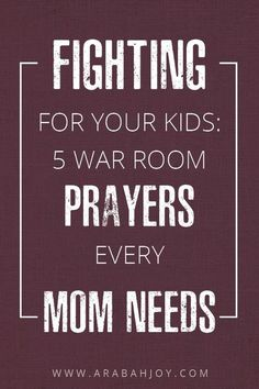 So you know that praying for your kids is one of the best things you can do as a parent. Here are five of my favorite verses to pray for my children. These are perfect for your war room! Prayers and how to pray Prayers For My Daughter, Prayer For My Family, Praying For Your Children, Mom Prayers, Prayers For Children, Bible Prayers, My Children, Special Prayers, Daughter Quotes