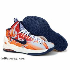 ff046cb758f0 New Nike Zoom KD V Orange Navy PE Basketball shoes New styles best  basketball shoes for