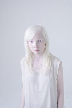 Albino by Anna Danilova white colour color pale art design photography blanc #white #pale