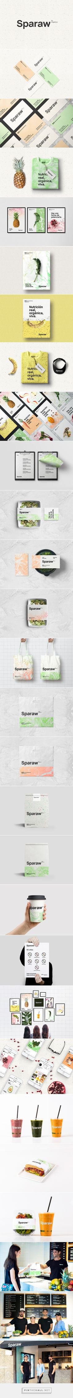 Sparaw Juices and Vegan Food Branding by Bunker3022 | Fivestar Branding Agency – Design and Branding Agency & Curated Inspiration Gallery