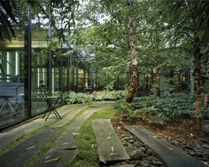 Tahari Courtyards by Michael Van Valkenburgh Associates «  Landscape Architecture Works | Landezine